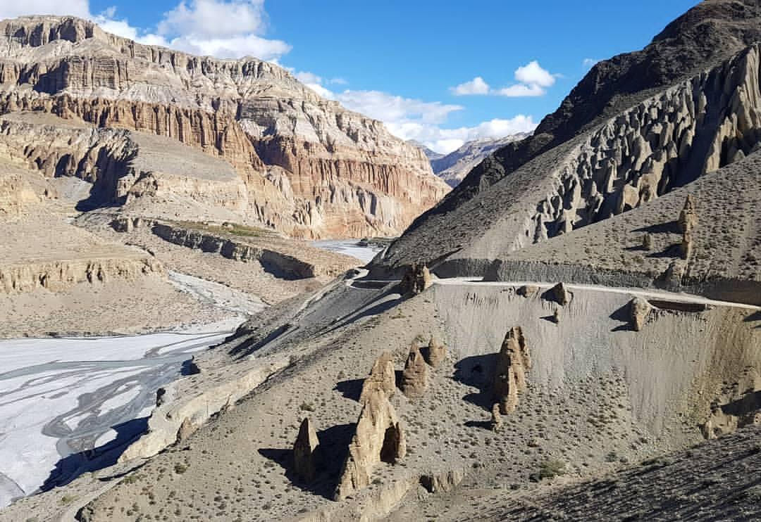 Trekking in upper Mustang experience