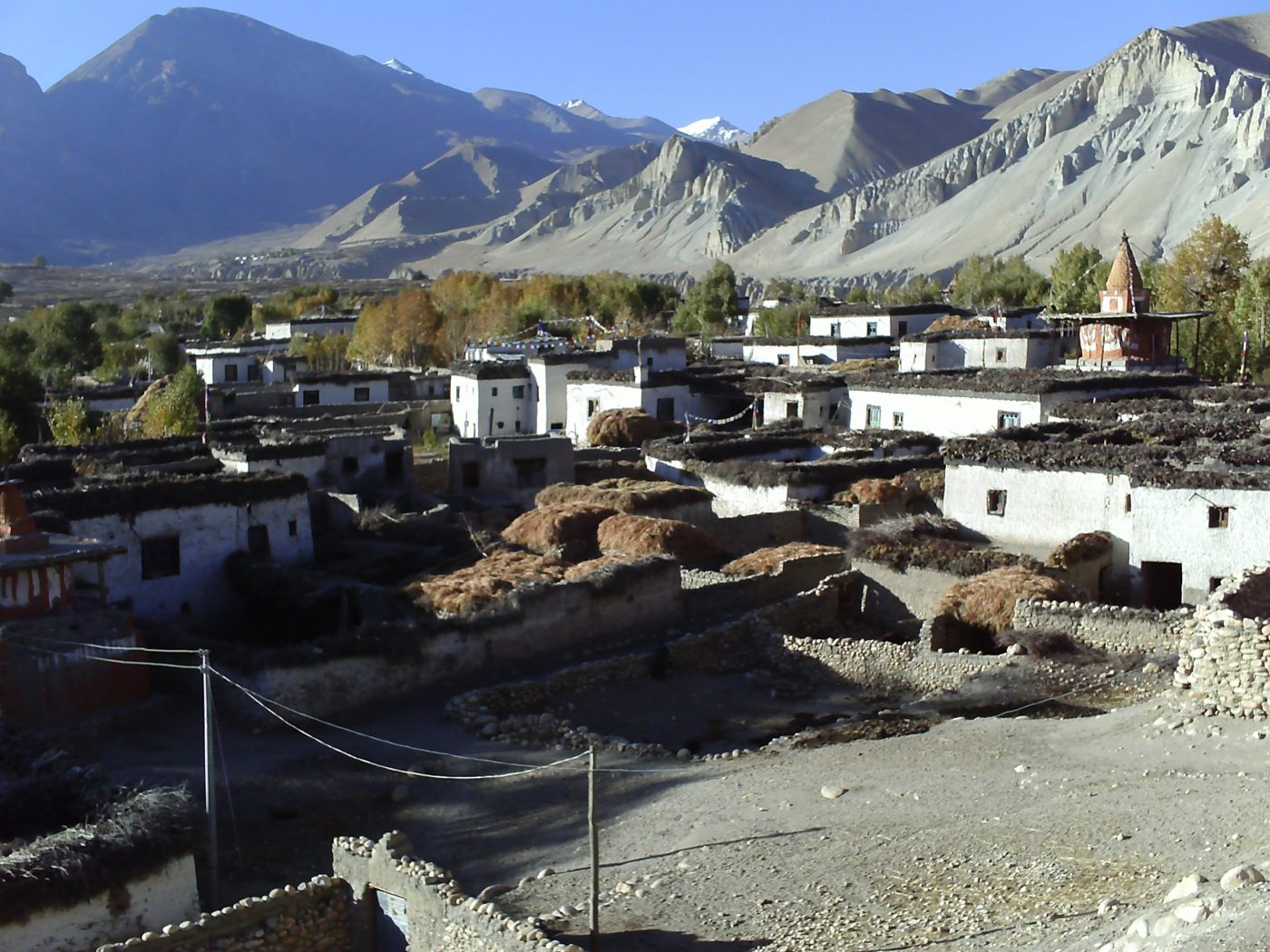 Trek to a forbidden kingdom of Mustang