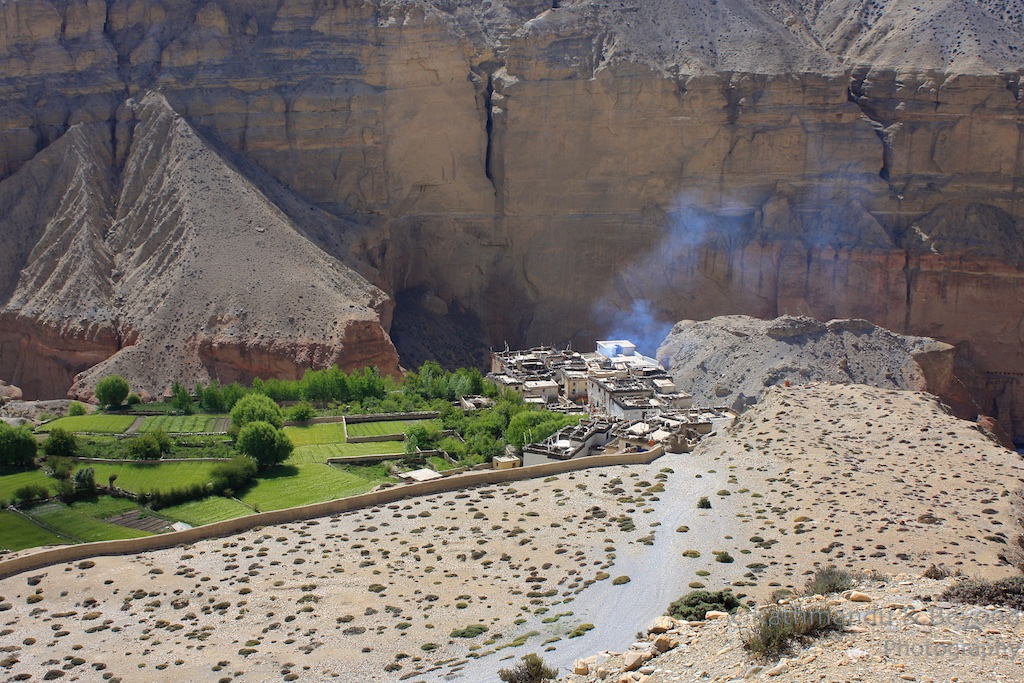 Trek in cool and semi arid climate of Mustang
