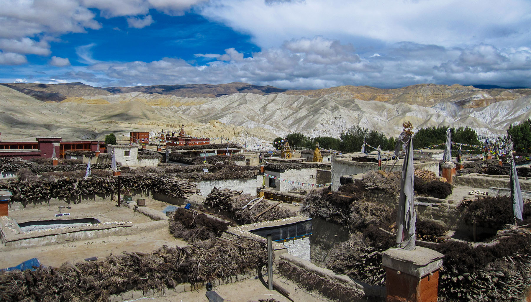 Most popular trekking places in Mustang