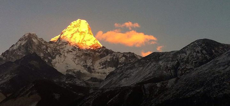 Expedition, trekking, Mt. Ama Dablam