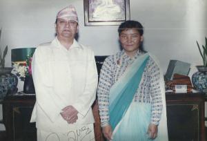 Pemba Doma & Gyanendra Bir Bikram Shah