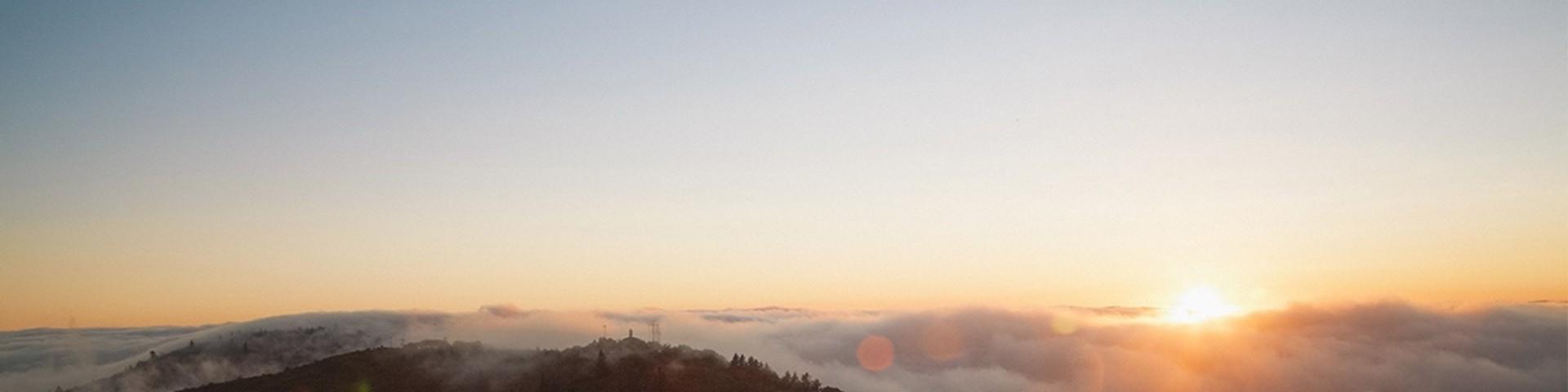 Morning view on a Himalayan trek