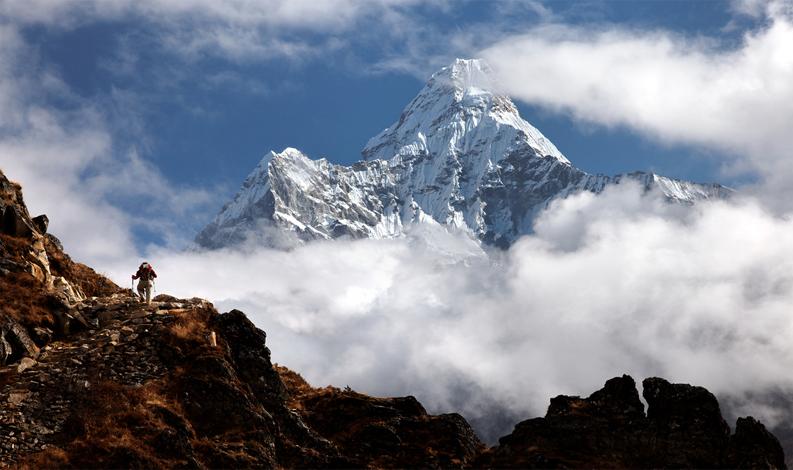 trekking, expedition, mt. Ama Dablam