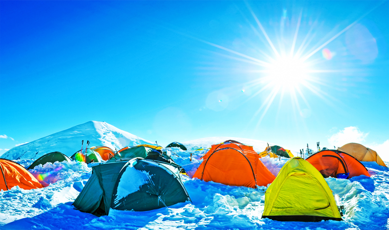base camp, trekking