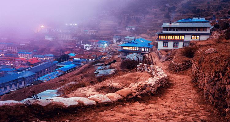 namche bazar, trekking