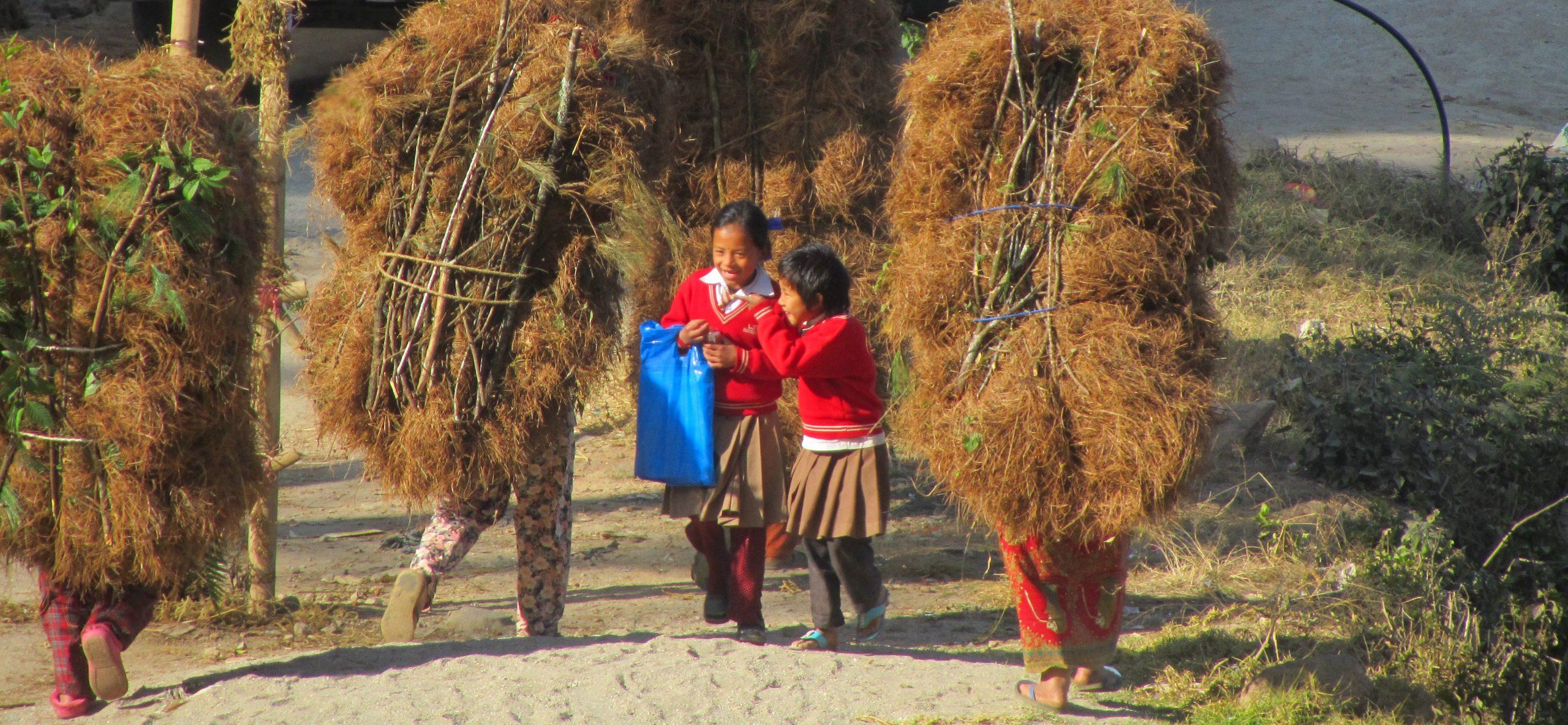 Trekking life in Nepal